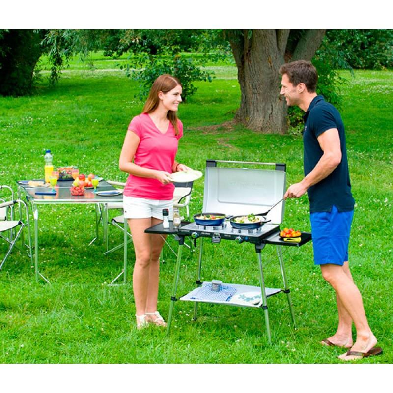 Cocina de gas con grill Campingaz 600 SG