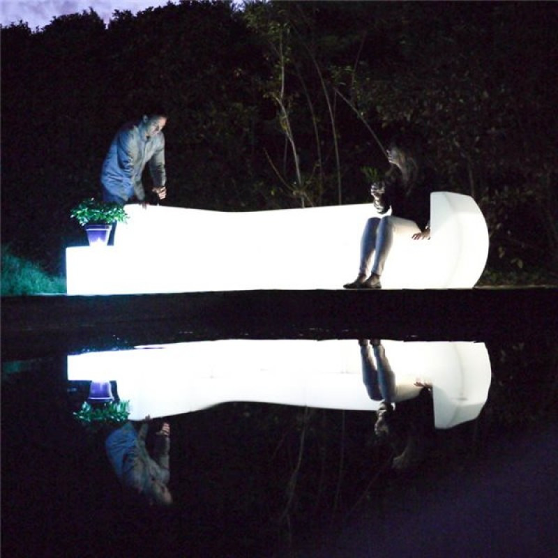 Sillon con luz Loonge 71 x 96 x 71 cm