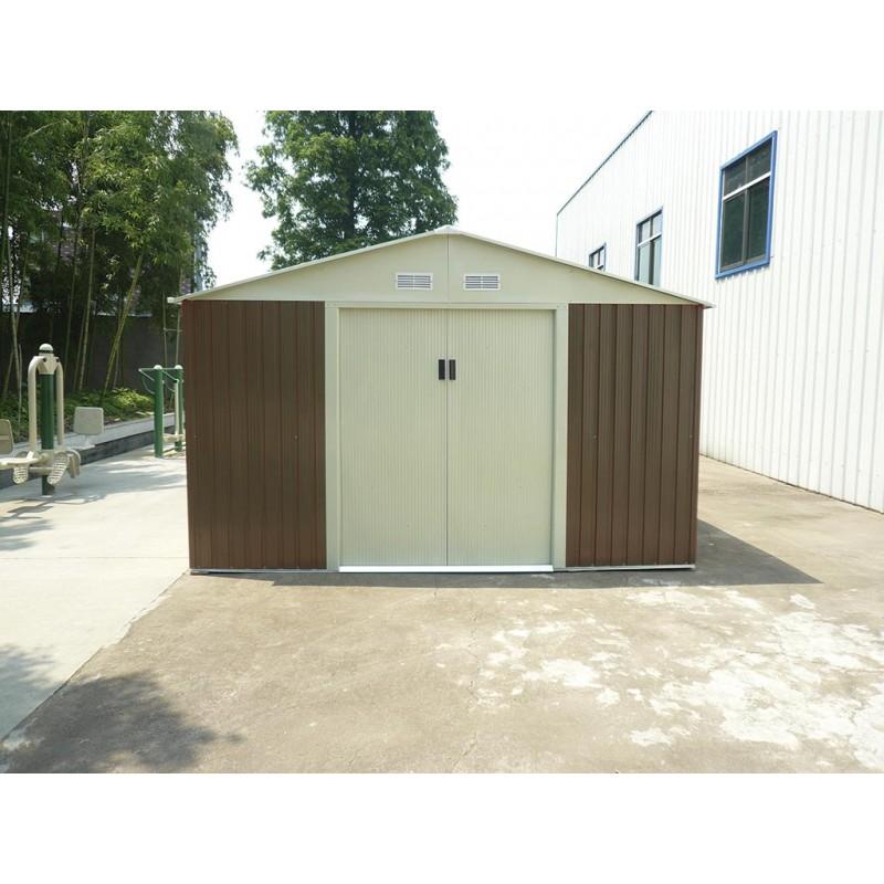 Caseta met lica cobertizo kis12804 outlet piscinas for Casetas para almacenaje exterior