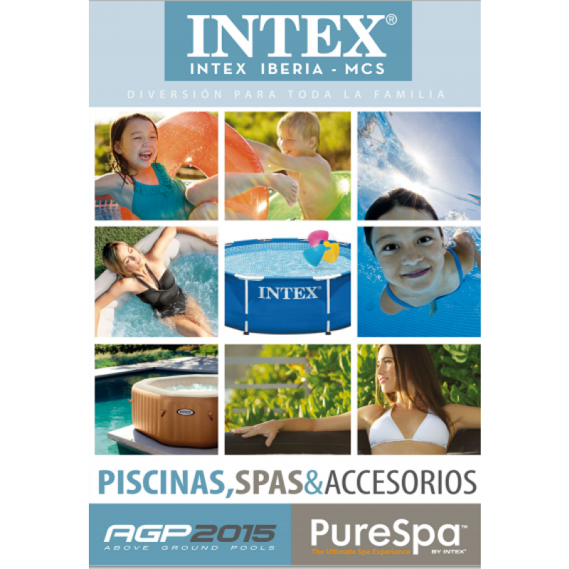 Cat logo piscinas intex 2015 outlet piscinas for Catalogo piscinas