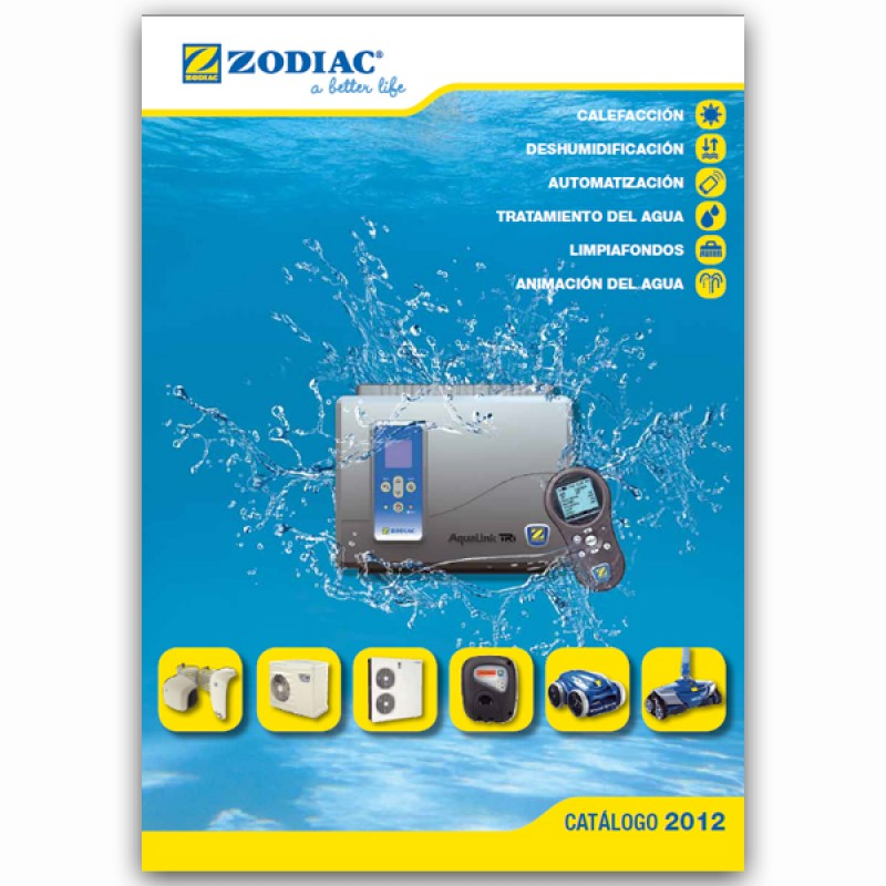 Catalogo zodiac 2012 outlet piscinas for Zodiac easy connect