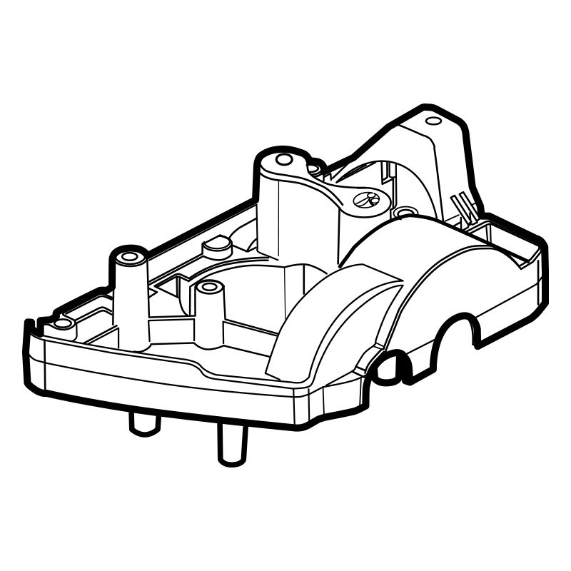 Chasis interno Polaris 3900 Sport W7640080