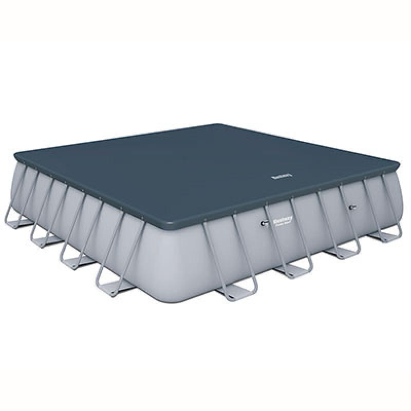 Cobertor Piscina Power Steel 488x488x122cm