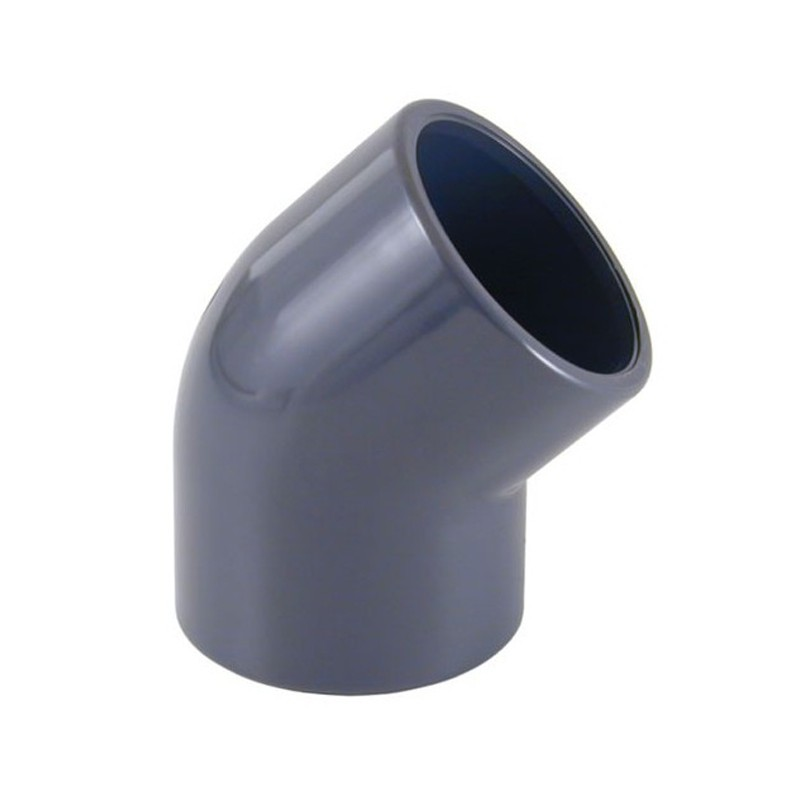 Codo de 45° PVC Cepex