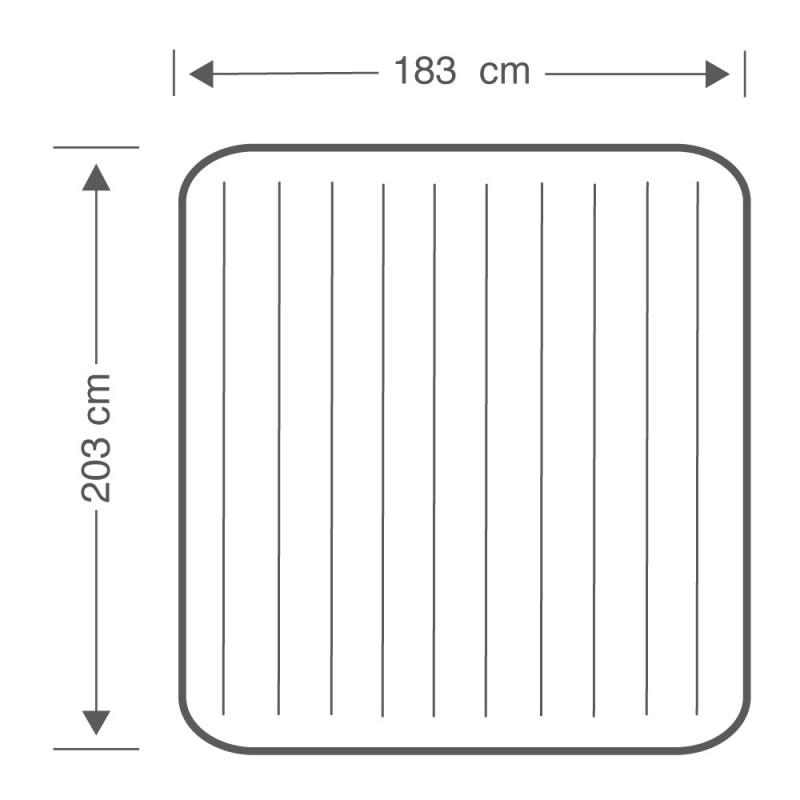 Colchón hinchable Dura-Beam Standard Classic Downy dimensiones 64759