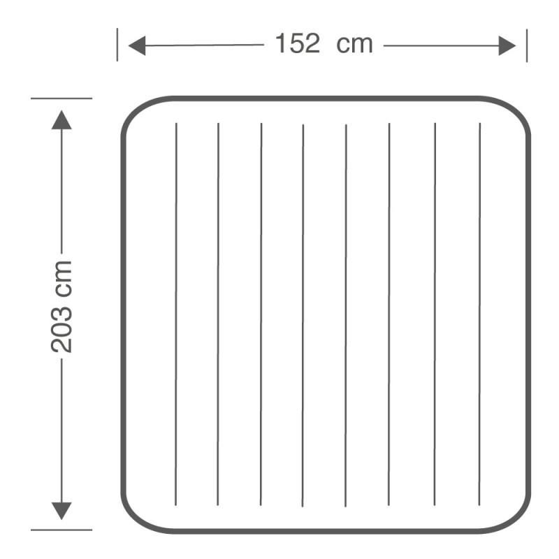 Colchón hinchable Dura-Beam Standard Classic Downy dimensiones 64765