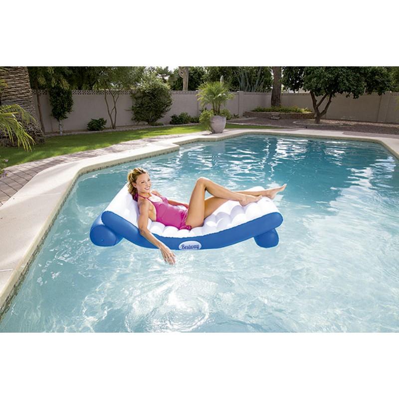 Colchoneta hinchable bestwayluxury outlet piscinas for Colchonetas piscina