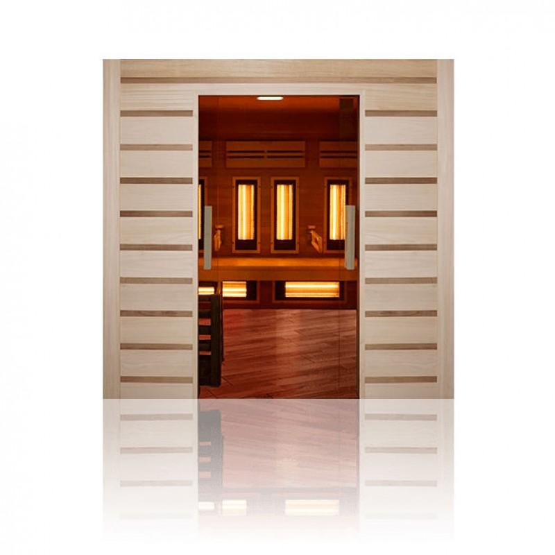 Sauna de vapor de acceso fácil