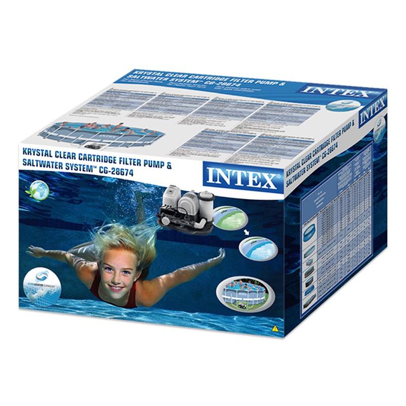Combo depuradora de cartucho de Intex