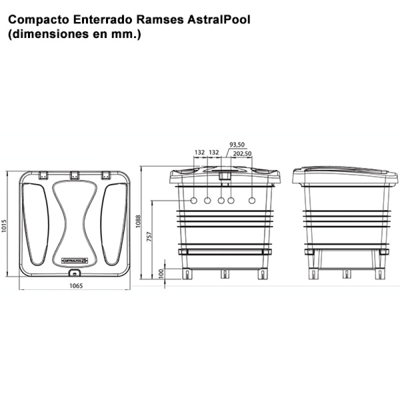 compacto enterrado ramses astralpool outlet piscinas. Black Bedroom Furniture Sets. Home Design Ideas