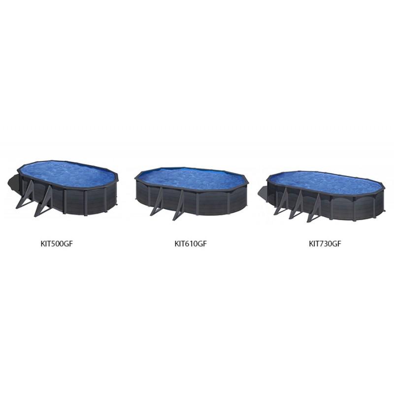 Comparativa medidas piscina Kea ovalada