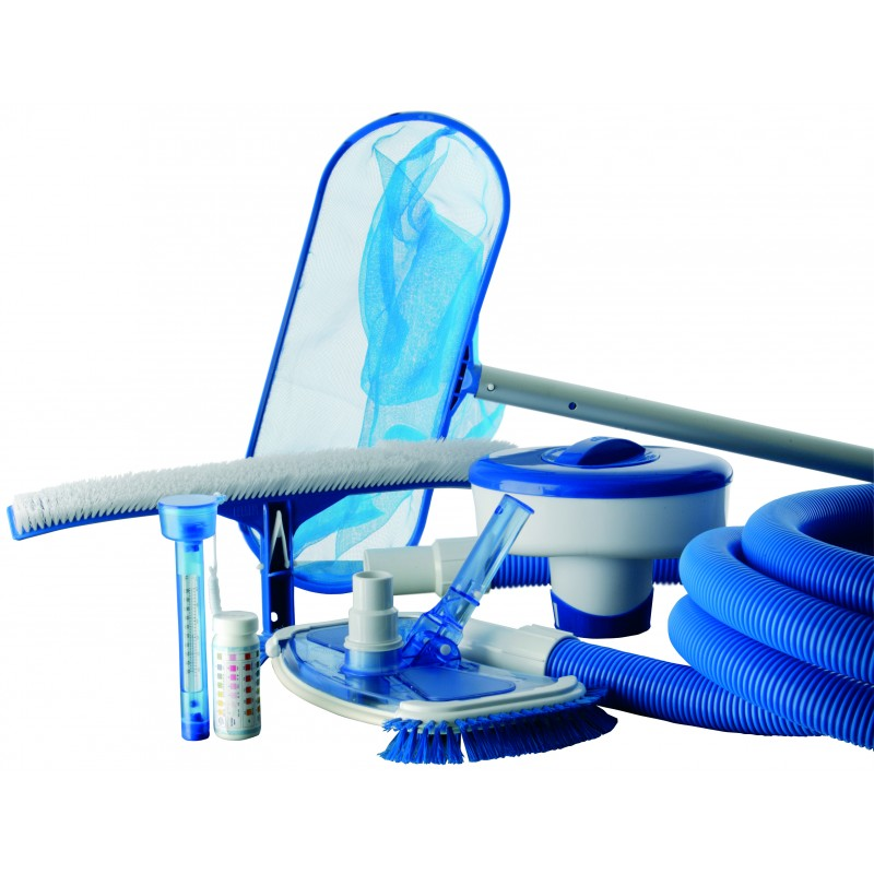 Kit de limpieza para 15m3 outlet piscinas for Accesorios de piscina