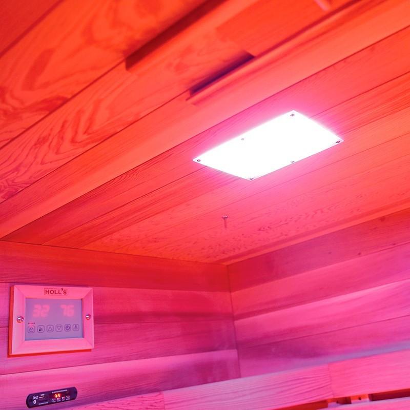 Cromoterapia Sauna infrarrojos Multiwave 3C