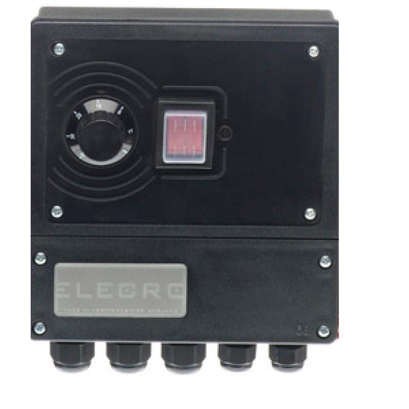 Panel analógico Intercambiador G2 Titanio Analógico de Elecro