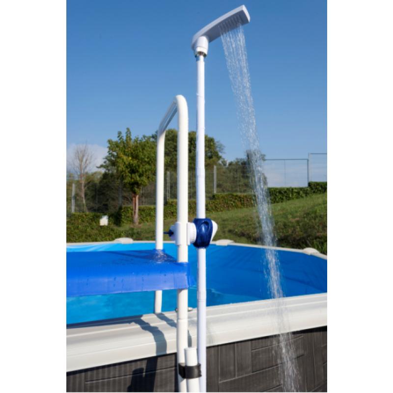 Ducha con clip kokido outlet piscinas - Duchas para piscinas exterior ...