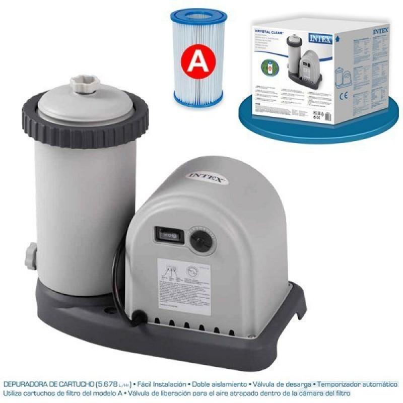 Depuradora de 5.678 l/h con filtros tipo A