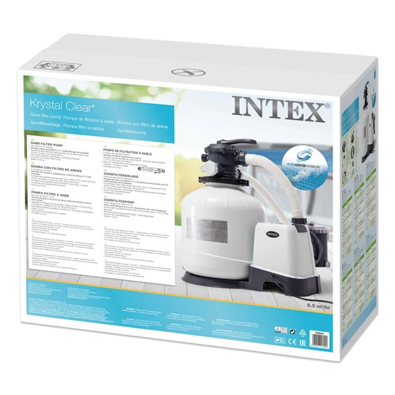 Depuradora de arena Intex 12.000 l/h 28652 caja