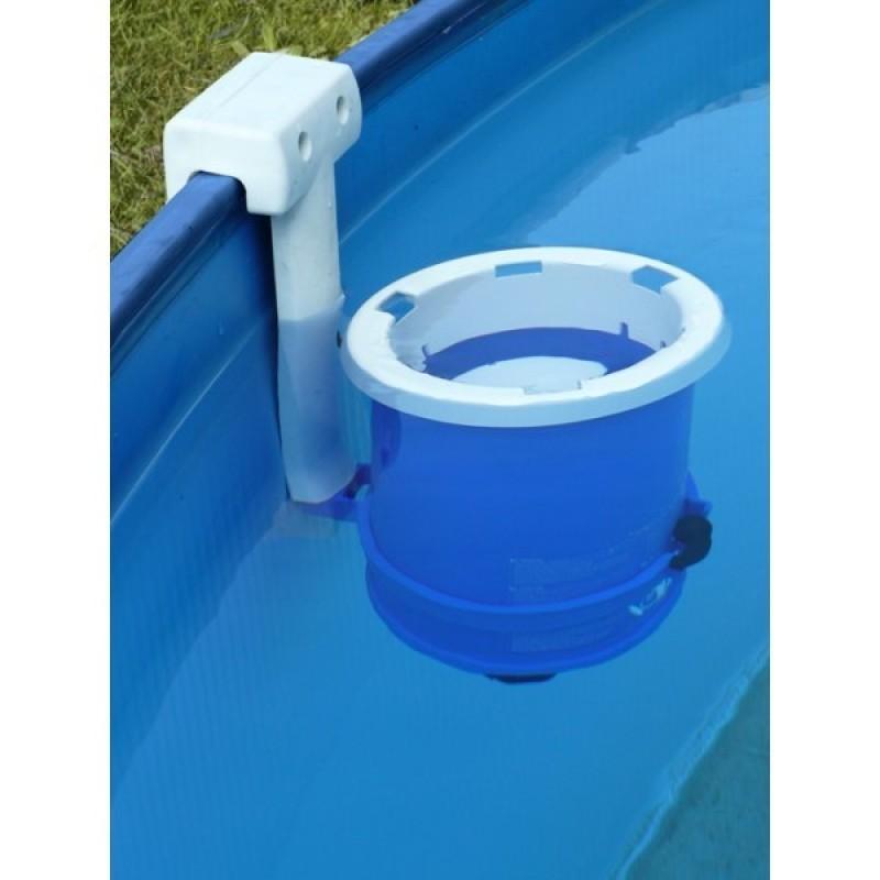 Filtro cartucho para piscina circular GRE Lanzarote chapa blanca