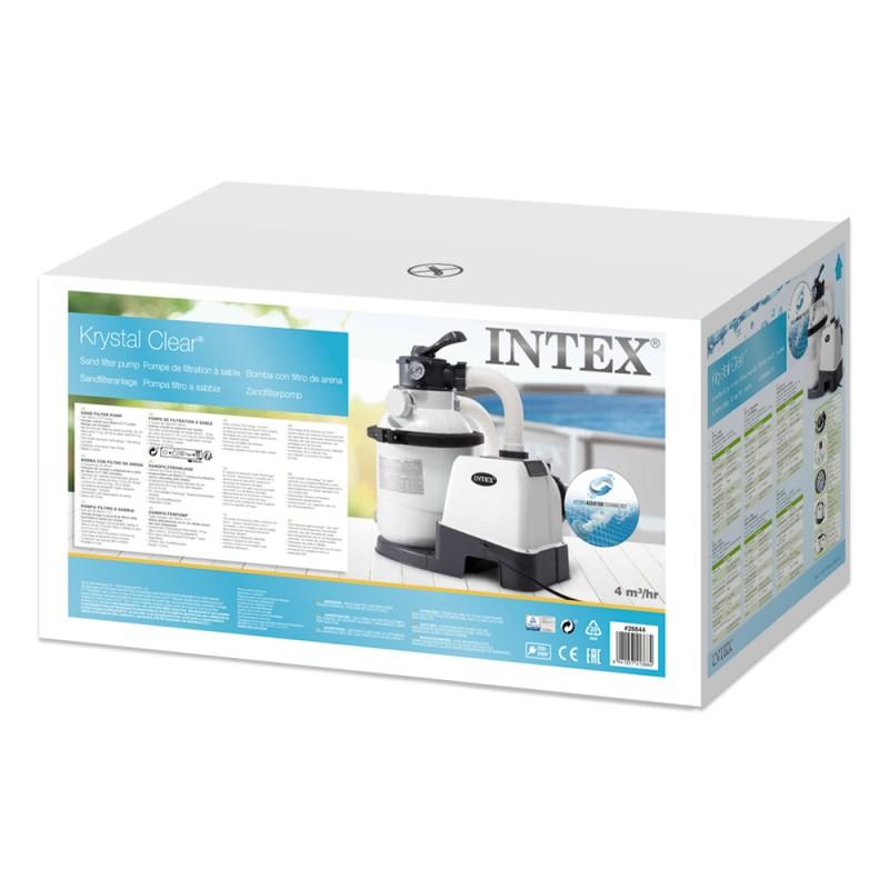 Depuradora Intex 26644 de arena de 4.500 l/h caja