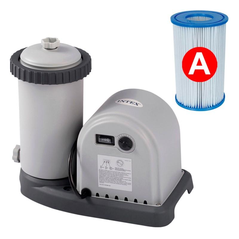 Depuradora de cartucho Intex filtro tipo A