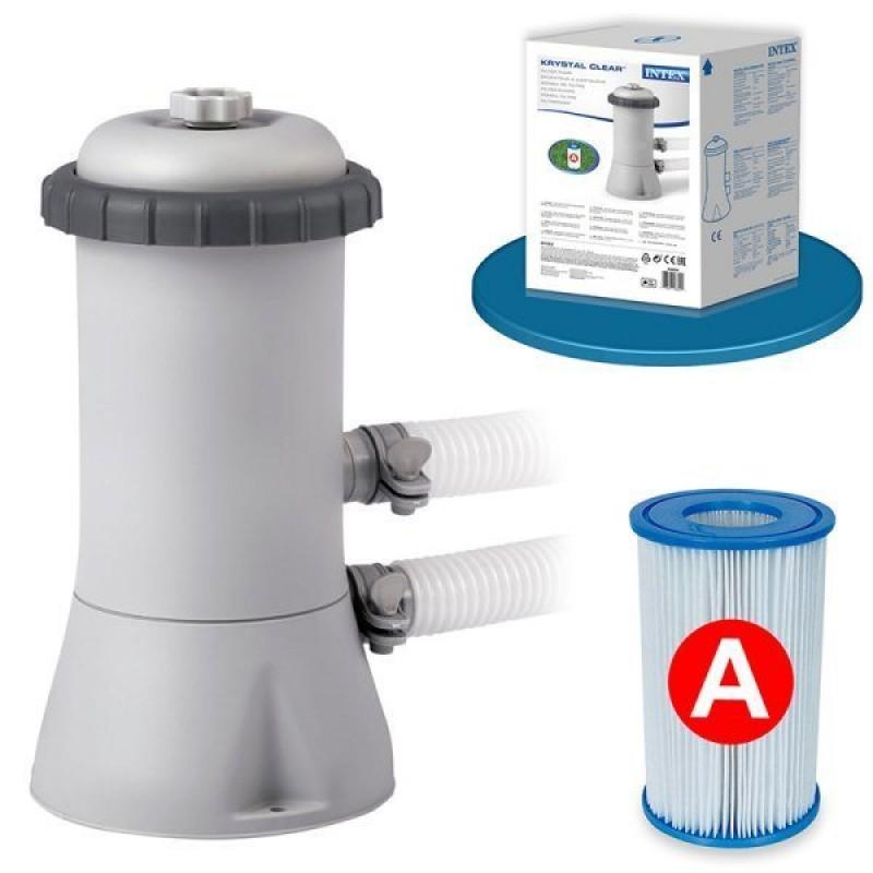 Depuradora 2.006 l/h con filtros tipo A