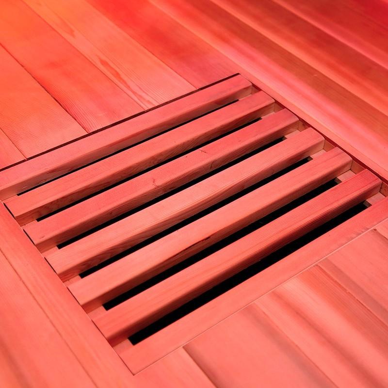 Detalle Sauna infrarrojos Multiwave 3C