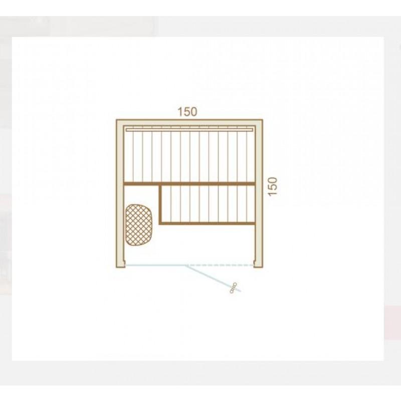 Dimensiones de la sauna Cala
