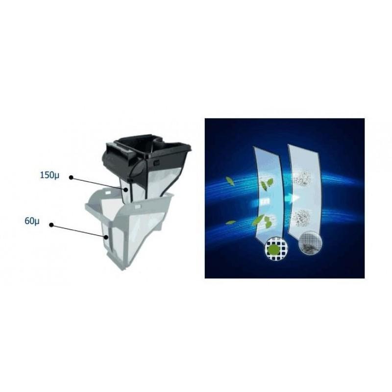 Sistema de doble filtro CNX 30 iQ