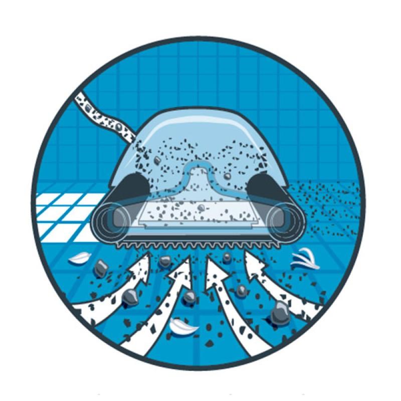 Limpiafondos Dolphin Suction