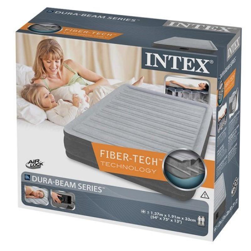 Embalaje del colchón hinchable de Intex