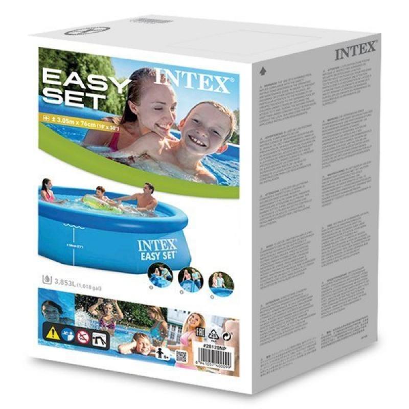 Piscina Easy Set Intex Ø305x76 caja