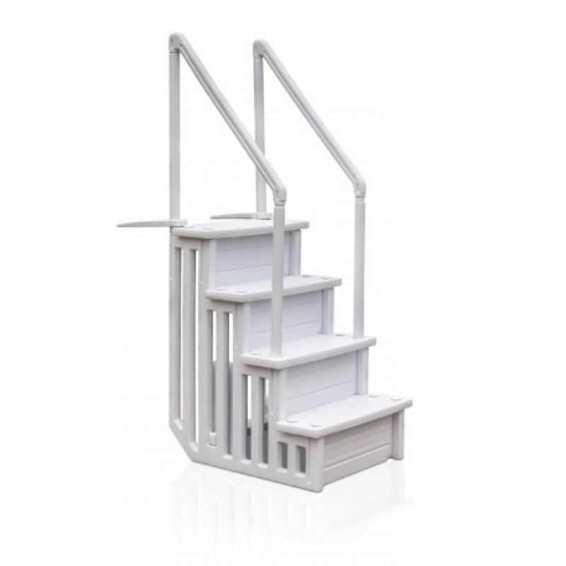 Escalera de seguridad 4 peldaños