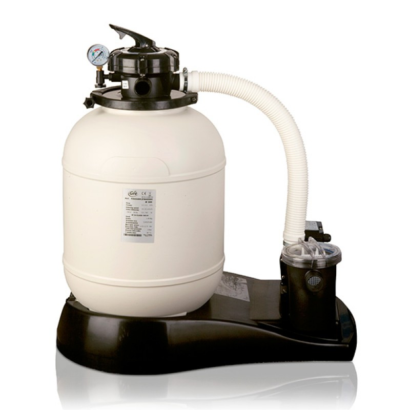 Piscina Desmontable Rattan Circular Gre filtro