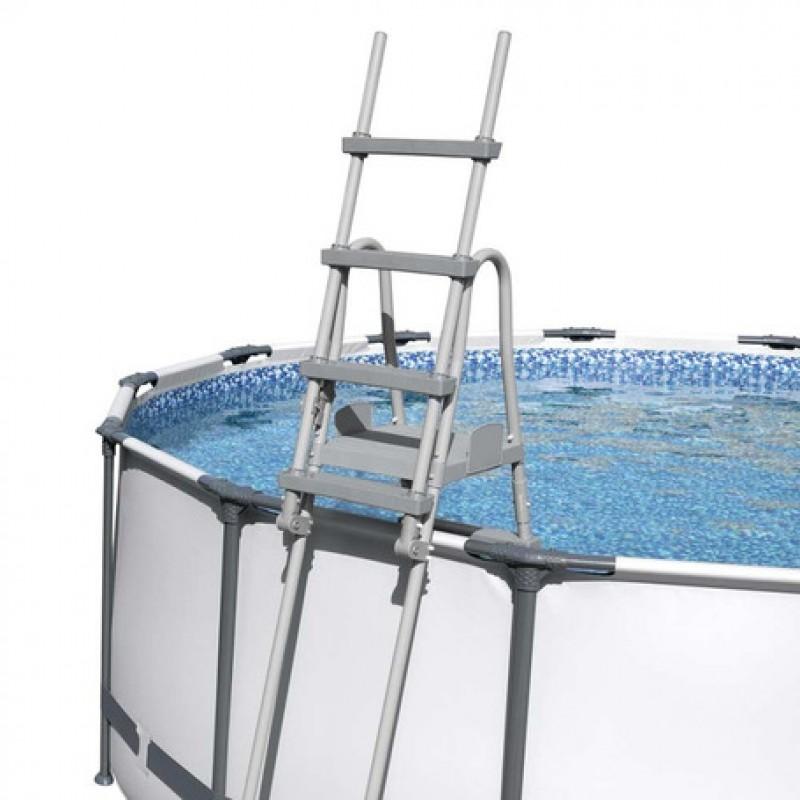 Escalera seguridad Bestway en piscina