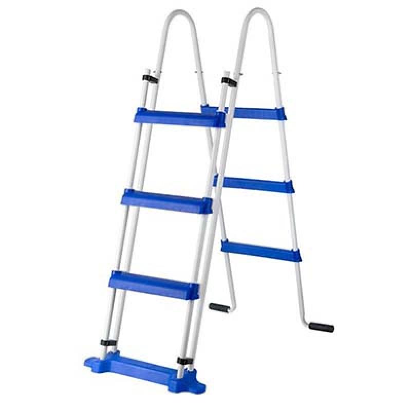 Escalera de tijeras de seguridad