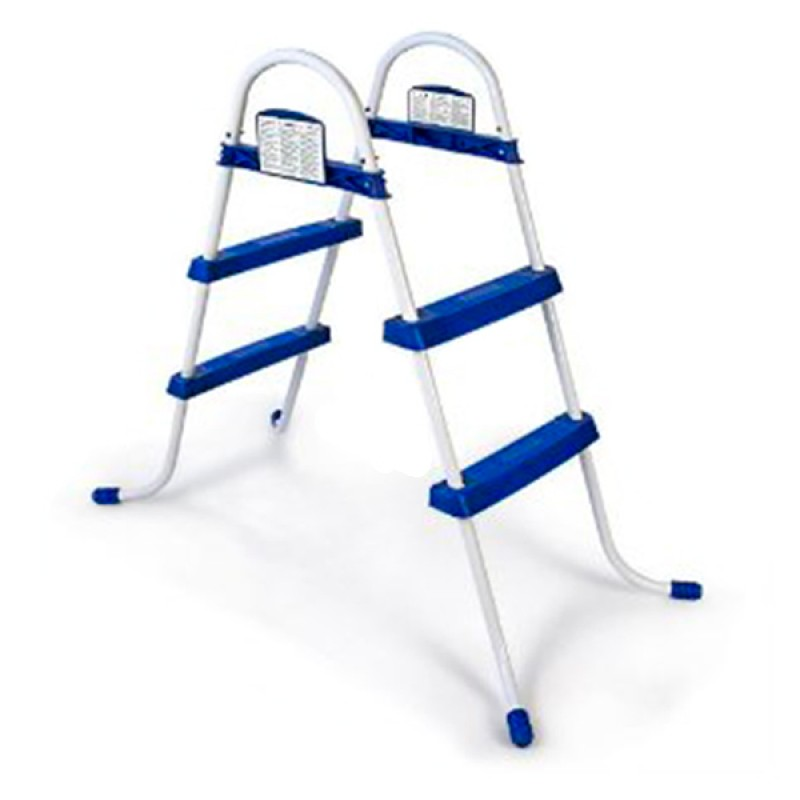 Escalera para piscina bestway 76 cm outlet piscinas for Escaleras de piscinas baratas