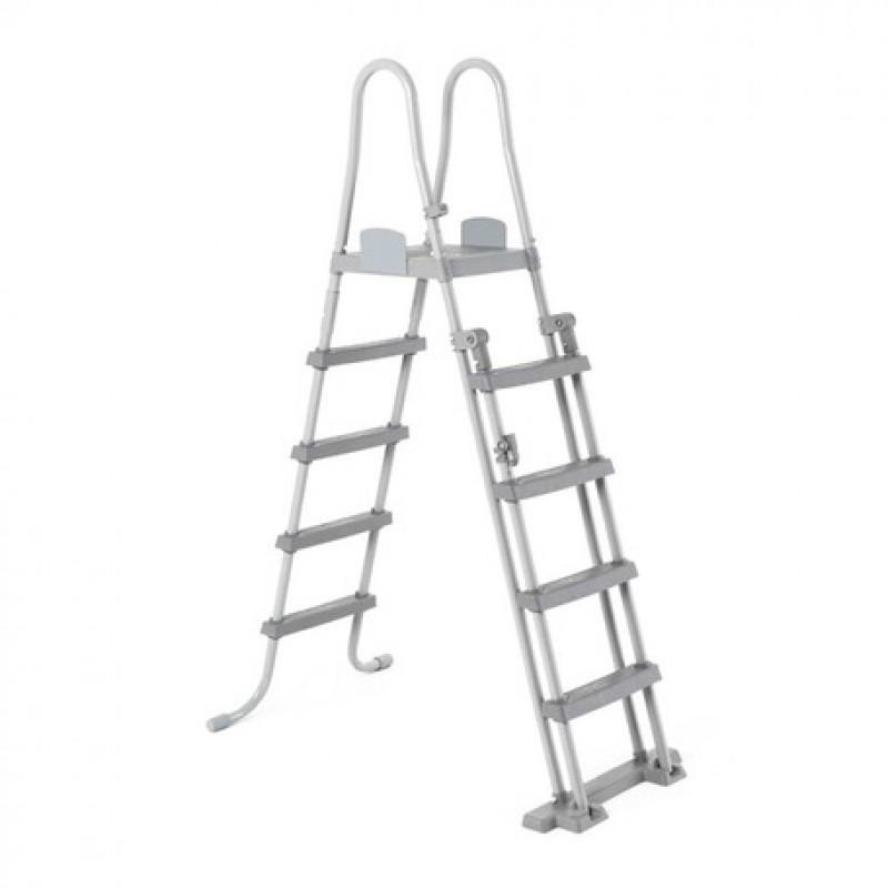 Escalera de seguridad con plataforma Bestway