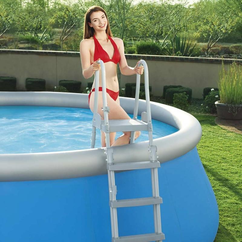 Escalera de seguridad para piscina desmontable
