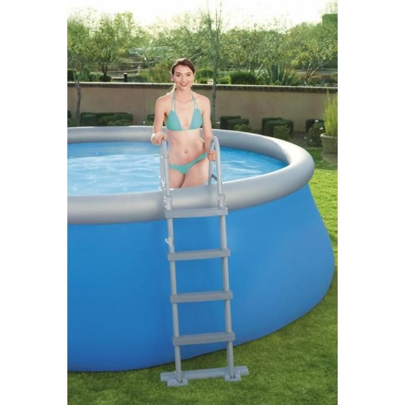 Escalera seguridad apta para piscinas flotador
