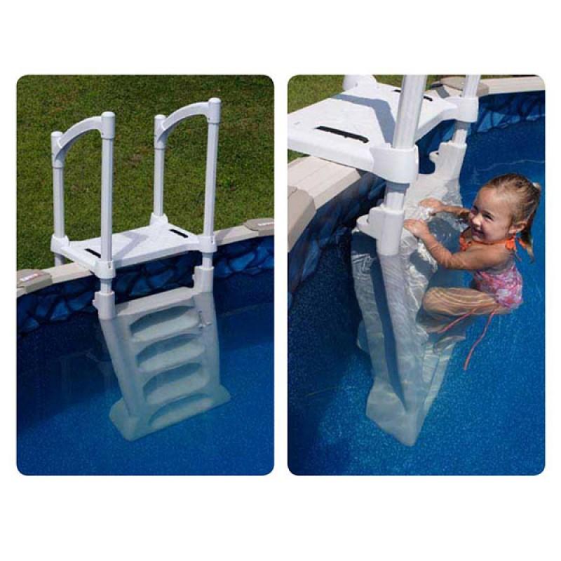 Escalera H2O piscina