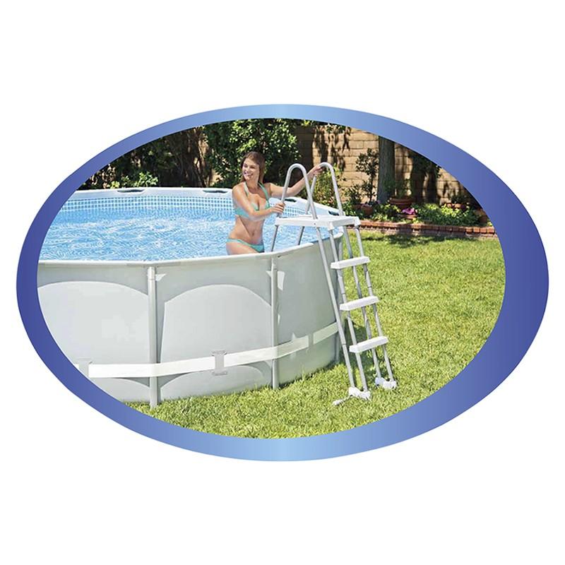 Escalera para piscinas elevadas