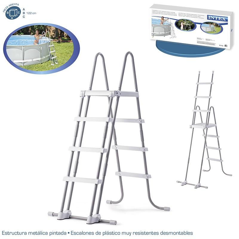Especificaciones de la escalera de Intex