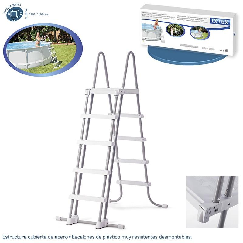 Especificaciones de la escalera elevada