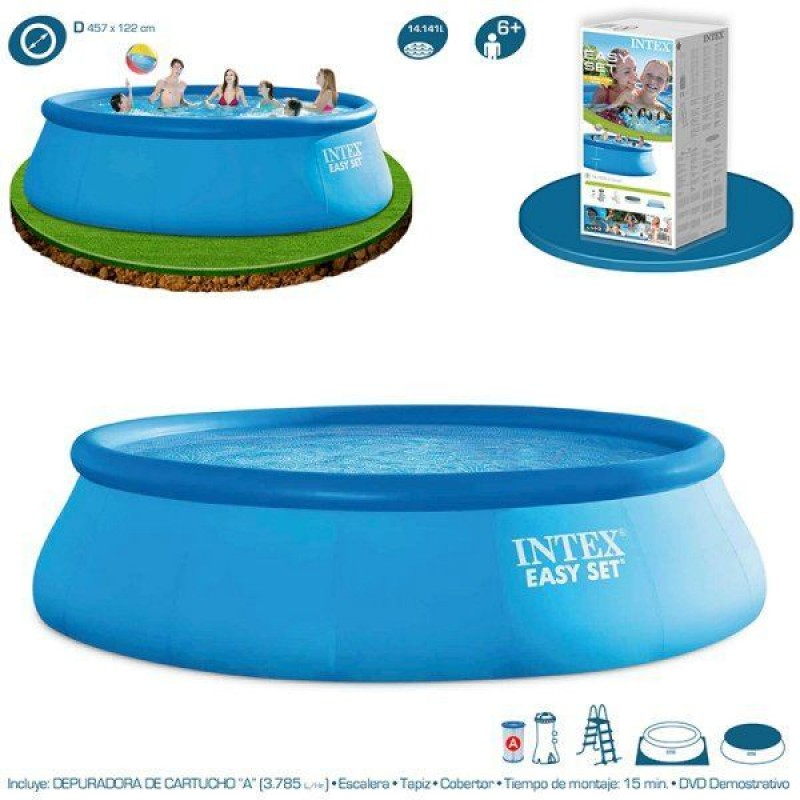 Piscina Easy Set Intex Ø457 pack