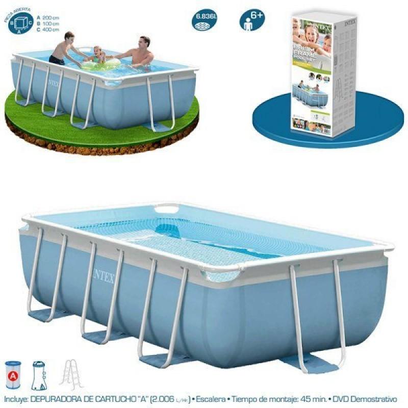 Especificaciones de la piscina Intex Prisma Frame