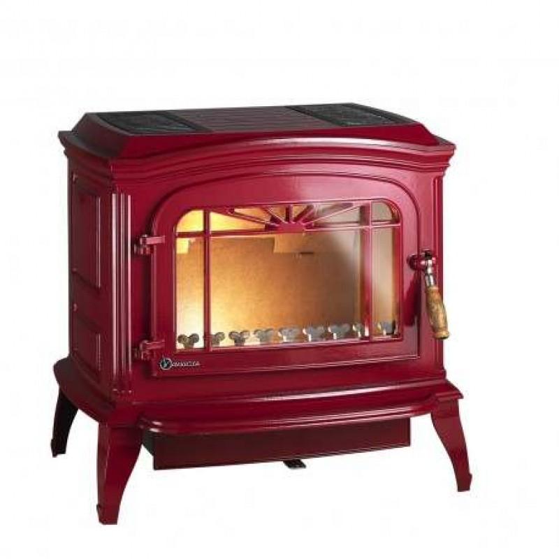 Estufa de Leña Bradford Invicta - Rojo - 1