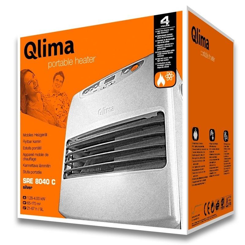 Estufa de parafina QLIMA SRE 8040 C
