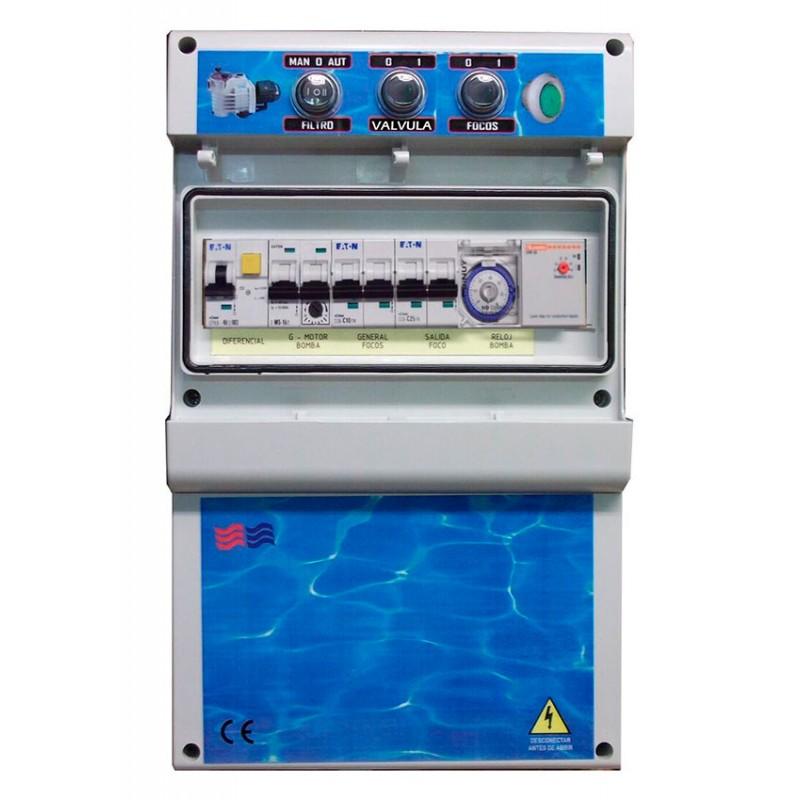Cuadros eléctricos para piscinas desbordantes F1TDCDE Coytesa