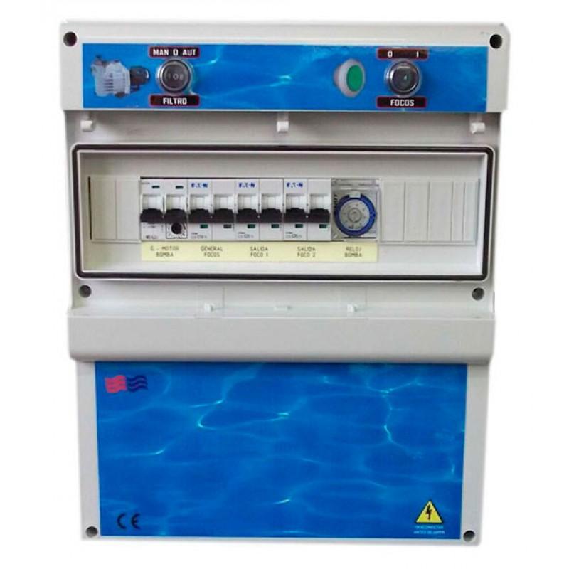 Cuadros eléctricos para piscinas desbordantes F2TD Coytesa