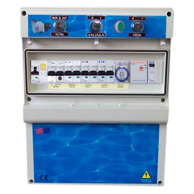 Cuadros eléctricos para piscinas desbordantes F2TDCDE Coytesa
